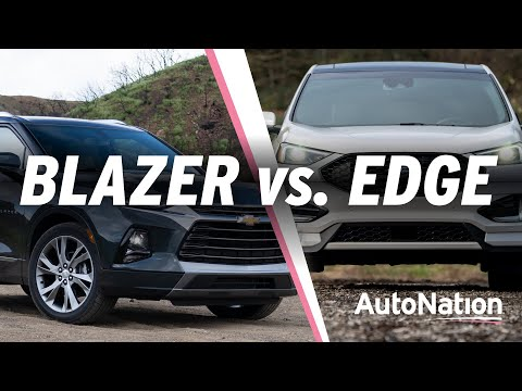 2019 Chevy Blazer vs 2019 Ford Edge - Which is Best? #autonationdrive
