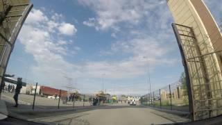 Переход границы Грузия - Азербайджан. Поведение пограничников. Табачная мафия на границах двух стран