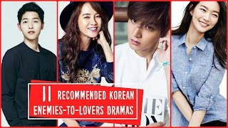 Video 11 Recommended Korean Enemies to Lovers Dramas download MP3, 3GP, MP4, WEBM, AVI, FLV April 2018