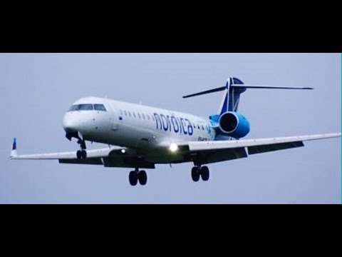 RARE | NORDICA CRJ-701 (ES-ACE ;-) Landing on the Zwanenburgbaan @ Amsterdam Airport Schiphol