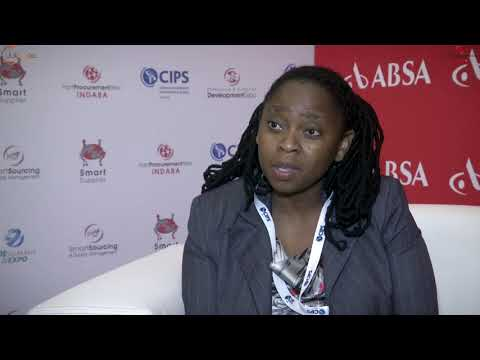 Melebo Thompson @ SPW Indaba / CIPS Pan African Conference