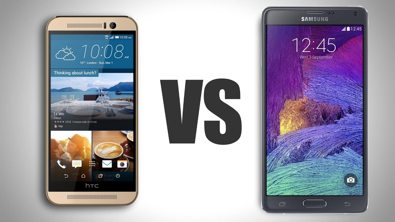 Samsung galaxy note 5 vs htc one m9 plus a comparison - Htc One M9 Vs Galaxy Note 4
