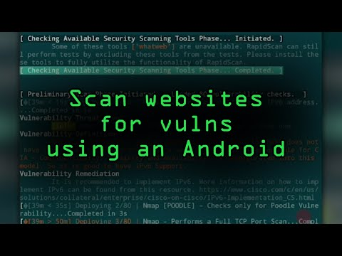 Android for Hackers: How to Scan Websites for Vulnerabilities Using an Android Phone Without Root