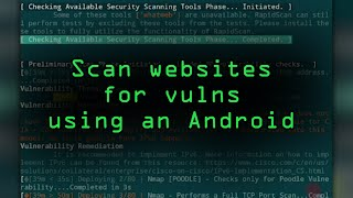 Scan Websites for Vulnerabilities using Kali Linux on Any Android Device [Tutorial]