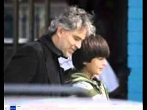 Andrea Bocelli and his sons (Semplicemente)