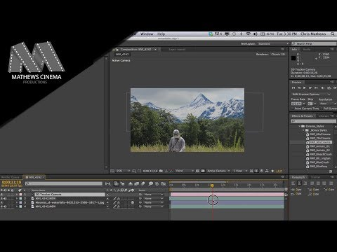 How to Add Mountains to the Background of your Video- After Effects CS6 [Tutorial]-Set Extension