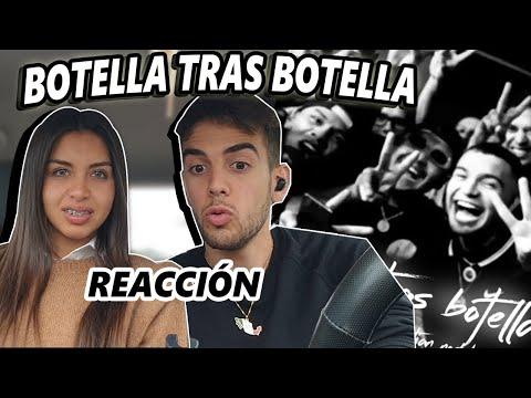 ESPAÑOLA🇪🇸 y ARGENTINO🇦🇷 reaccionan a BOTELLA TRAS BOTELLA de CHRISTIAN NODAL y GERA MX