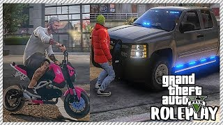 GTA 5 ROLEPLAY - Tiny Bike Police Chase | Ep. 418 Civ