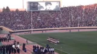最後の国立競技場ラグビー 明治VS早稲田
