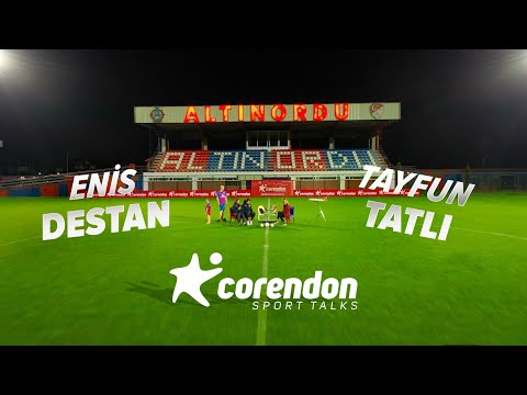 Corendon Sport Talks Episode 6 : Altnordu Enis Destan - Tayfun Tatl | SUBTITLED -Corendon Airlines