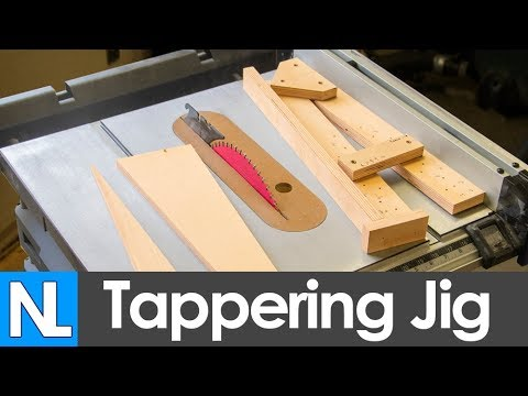 How To Make A Tapering Jib Simple Woodworking Diy
