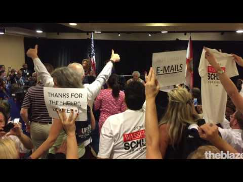 Debbie Wasserman Schultz Appearance at Florida Delegate Breakfast Sparks Chaos