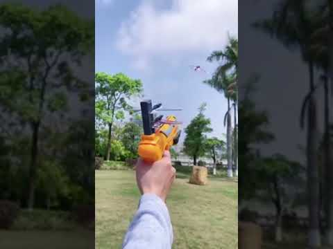 彈射連發空戰泡沫飛機 彈射泡沫飛機 戰鬥飛機射擊槍 飛機玩具 泡沫飛機槍 空戰對決 飛機槍 玩具槍