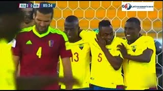 Video Gol Pertandingan Ekuador vs Venezuela