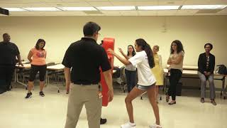 UMPD Self defense class- reported by Terrisa Mark