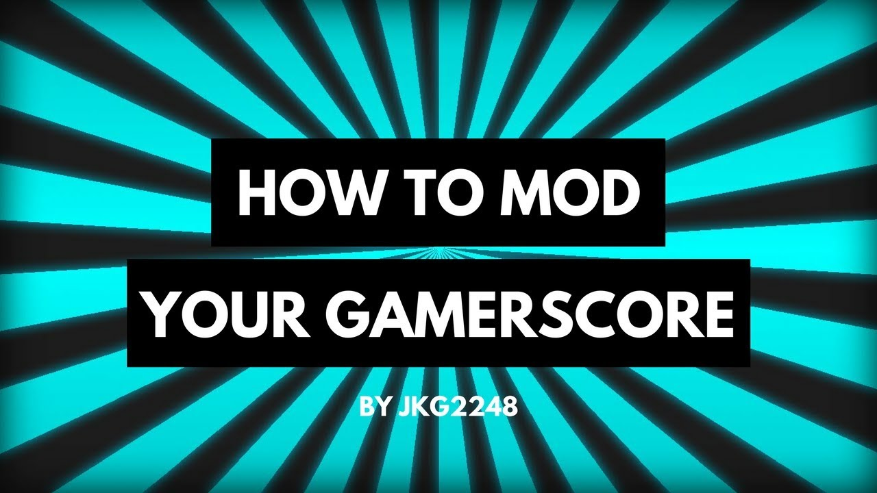 How To Safely Mod Your Gamerscore Xbox 2018 Youtube Xbox360 Slim Reset Glitch Hack Rgh Modification Service Pictures