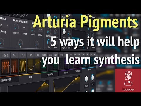 5 ways to learn synthesis with Arturia Pigments