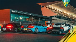 Porsche 935 vs Merc-AMG GT R Pro vs McLaren 720S Spider… at Night | Drag Races | Top Gear