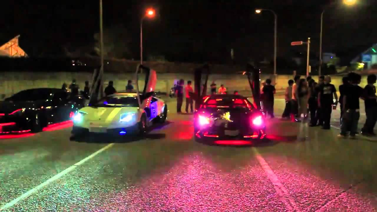 Neon cars youtube sciox Choice Image