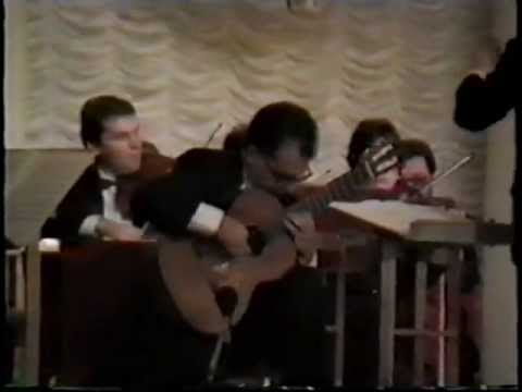 Pepe Romero: Concierto de Aranjuez (Joaquin Rodrigo) ( Moscow 1991)