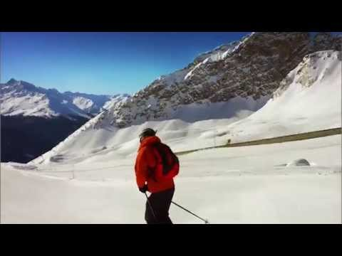 Davos Klosters Skiing, Switzerland.
