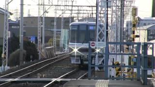 名鉄3150系+3500系  急行  豊橋行き  小田渕駅通過