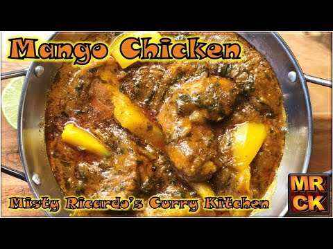 Mango Chicken Curry (BIR Style) from Misty Ricardo's Curry Kitchen