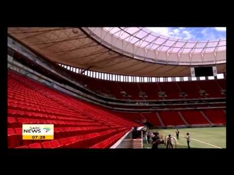 2014 FIFA World cup stadium update