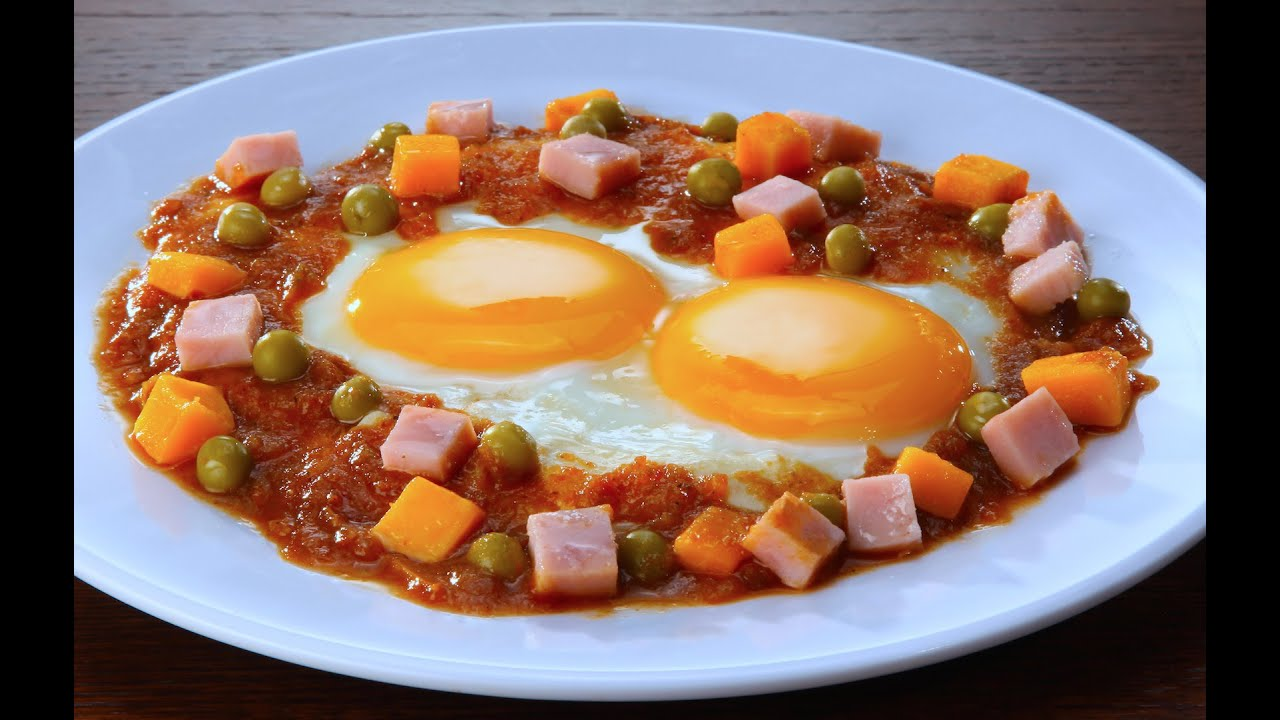 Desayuna: HUEVOS MOTULEÑOS, realmente DELICIOSOS - YouTube