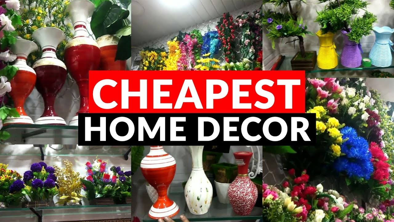 Wholesale Retail Market Of Artificial Flowers Cheapest Home Decor