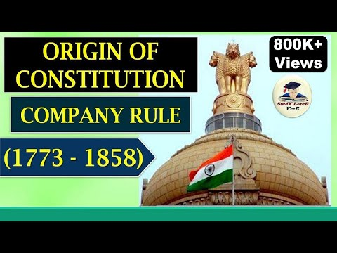 Indian Polity-L-2- Origin of Constitution during Company Rule- (1773–1858) by VeeR
