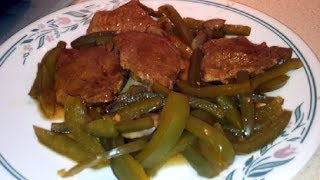 Braised Pork With Mushrooms and Green Pepper (PaleoPrimalDr Poon)