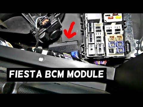 FORD FIESTA BCM MODULE LOCATION REPLACEMENT MK7 ST BODY CONTROL MODULE