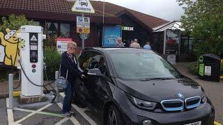 BMW i3 Test Drive - Devon to Bristol