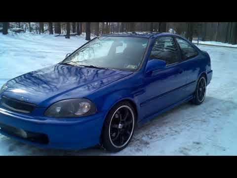 1996 Honda Civic EX TURBO D16z6 VTEC swap