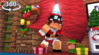 360° Minecraft Hide N Seek Christmas Edition! - 360° Minecraft Video thumbnail