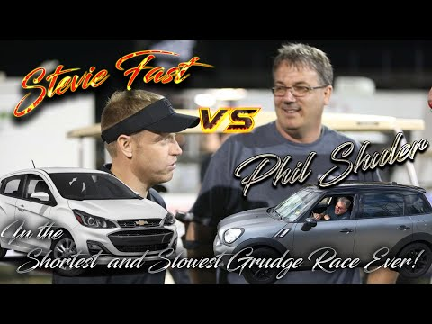 KTR Goes No Prep Racing - In the Shortest and Slowest Grudge Race Ever! Stevie Fast vs Phil Shuler!