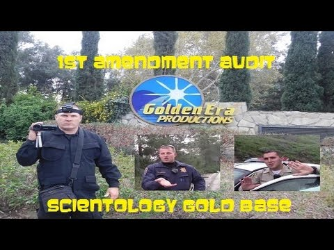 1st Amendment Audit, Scientology Gold Base
