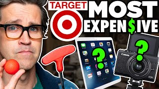 What's The Most Expensive Item At Target? (Mini Golf Game)