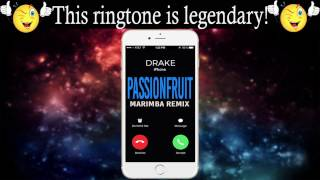 Enjoy this best ringtone of the most popular song week drake's passionfruit : http://smarturl.it/passionfruitmnd marimba remix drake ...