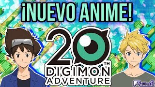 ¡NUEVO ANIME DE DIGIMON ADVENTURE! (Toei yamete)
