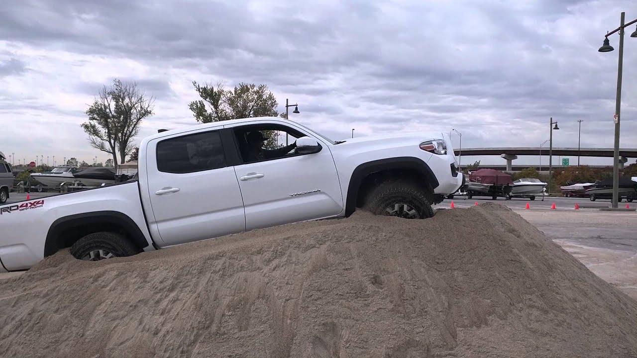 2016 Toyota Tacoma Trd Off Road Crawl Control Demonstration