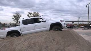"2016 Toyota Tacoma TRD Off-Road ""Crawl Control"" Demonstration"