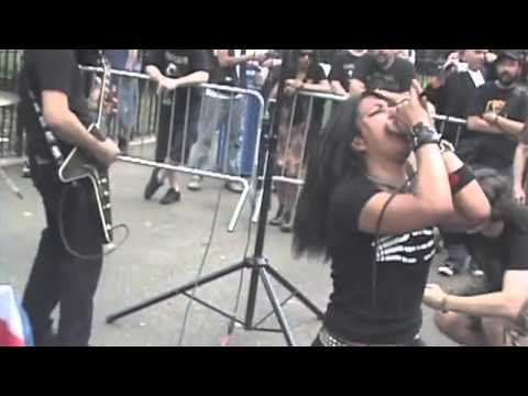 ALEKHINE'S GUN at Tompkins Square Park NYC 2012 video by Uptown AL
