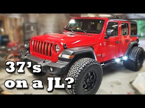 "Will 37"" Tires Fit on a Jeep Wrangler JLU?"