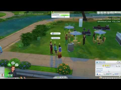 Sims 4 Dine Out Rags To Riches Challenge Live Stream 12  