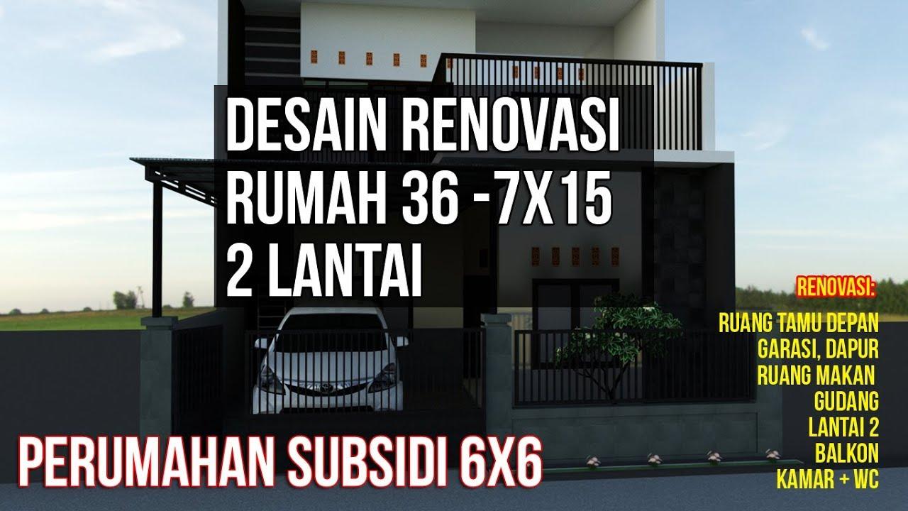 55 Desain Rumah Perumahan Subsidi Gratis Terbaik