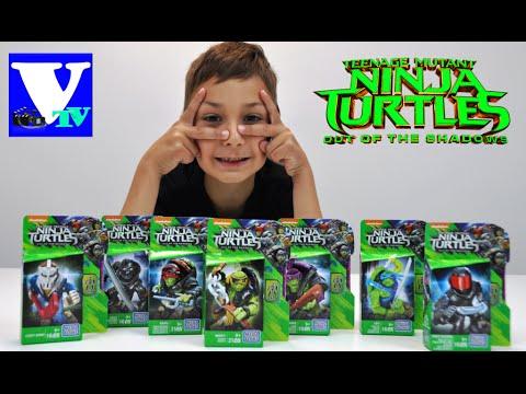 ЧЕРЕПАШКИ НИНДЗЯ 2016 распаковка фигурок!  Teenage Mutant Ninja Turtles Unboxing