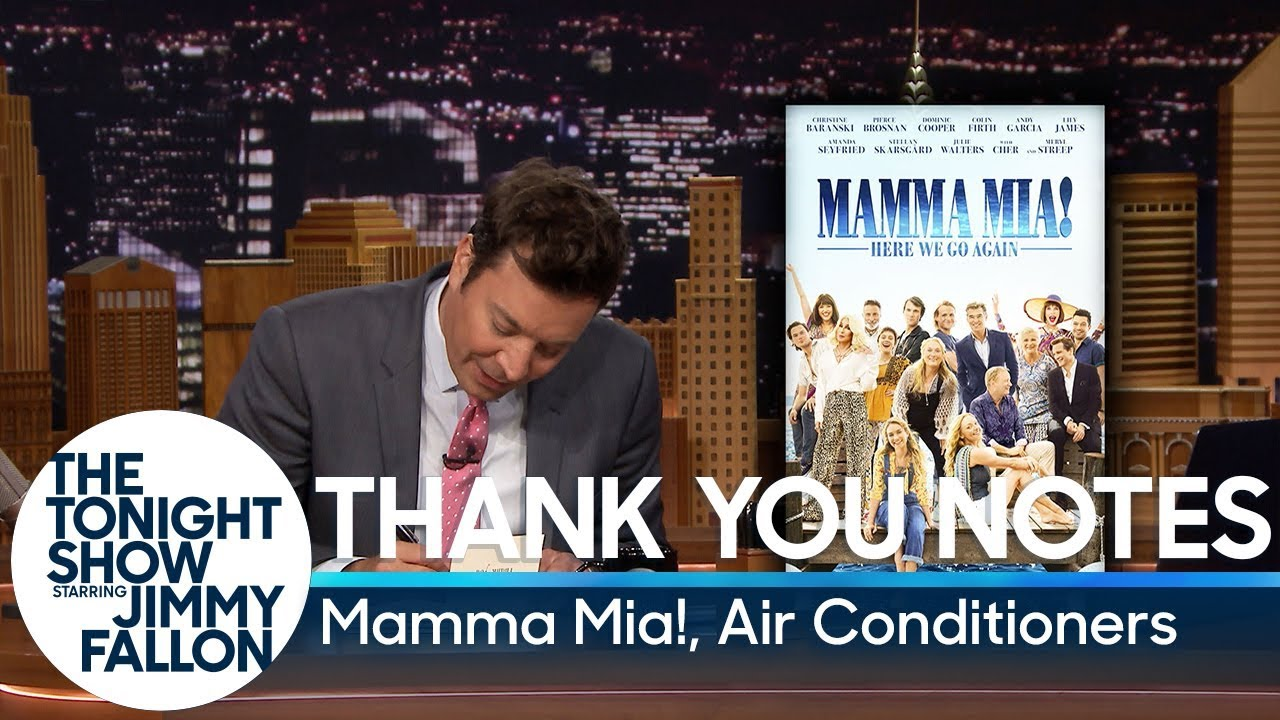 Thank You Notes: Mamma Mia!, Air Conditioners