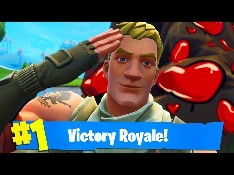 helping the coolest kid ever win his first Fortnite game...